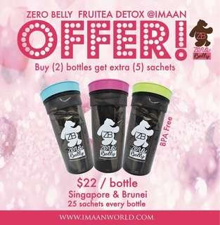 🚚 Zero Belly Fruitea Detox