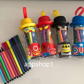 Magic color pen - heroes party door gift, birthday party goodies favors