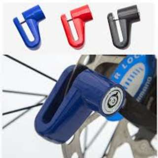 Motorycle Bike Disk Lock