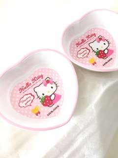 Hello Kitty Heartshaped bowl.