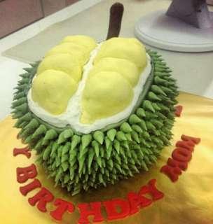 Durian theme cake