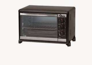 OX-858 Oxone 2 in 1 Oven (18Lt) - Black
