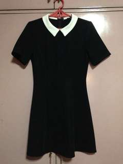 Forever 21 Wednesday Collar Dress