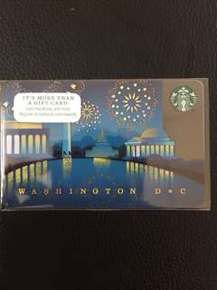 Starbucks Card Washington 2014