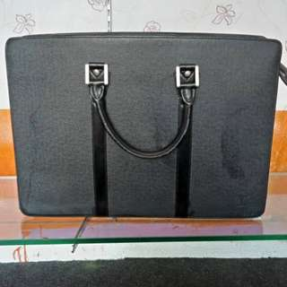 Preloved Lv Porte-documents Rosen charm leather 2-WAY