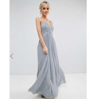 ASOS Maxi Dress with premium lace