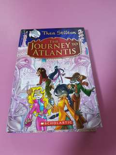 Thea Stilton 'The Journey  to Atlantis'