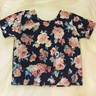 FLORAL OVERSIZED TEE