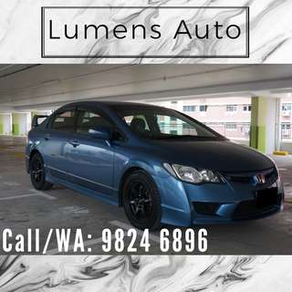 Honda Civic - Car Rental for Grab/Personal use