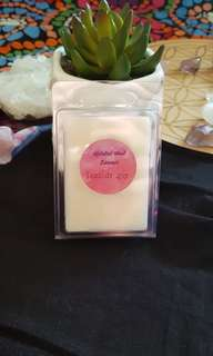 Seaside spa fragrance soy wax melts, one pack of six