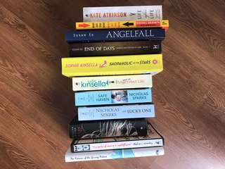 Preloved books/novels