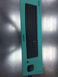 Logitech Wireless Keyboard & Mouse MK235