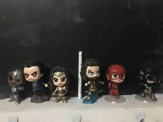 Justice League Chibi Size 3-4 inch