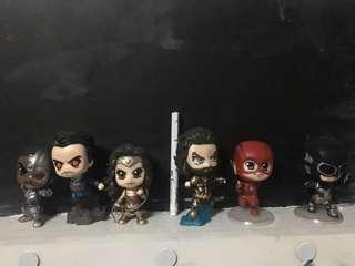 Justice League Chibi Size 3-4 inch