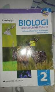Biologi untuk SMA/MA kelas 11 MIPA Erlangga K13