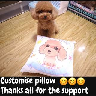 Customise pillow