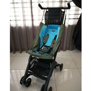 Geoby Pockit CocoLatte Recline Stroller