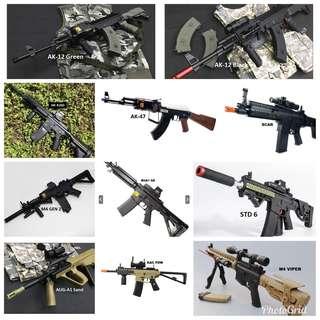 Gel Blaster Toy Collection: Guns & Rifles