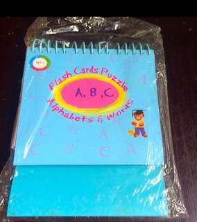 Flash Card Puzzle Alphabets & Words
