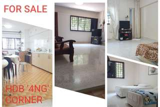 4'NG' Upgraded HDB - For Sale