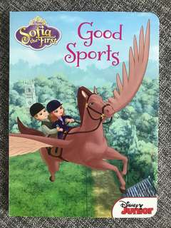 Sofia the First Board book The Good Sports BN
