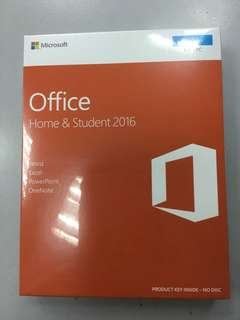 Microsoft Office 2016 home & student( no outlook)