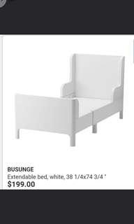 IKEA children adjustable bed