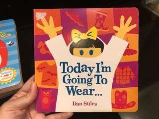 Buku Anak - today I'm going to wear....