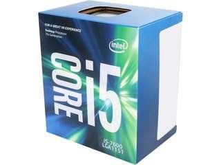 Intel i5-7600 w/ AsRock B250M MB