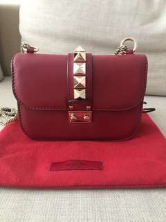 VALENTINO Rockstud Glam Lock Bag Small