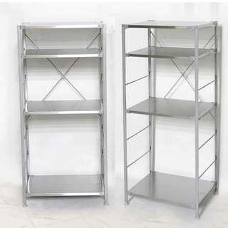 不鏽鋼層板四層置物架【家具工匠】5604T