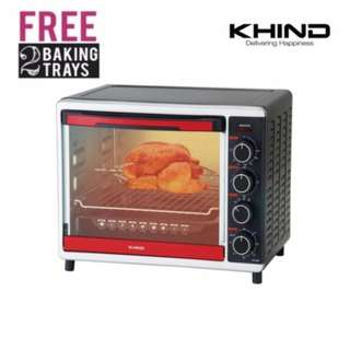 Khind OT3005 Electric oven 30L (Free 2 Baking Trays)