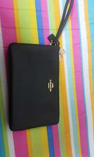 Coach Wrislet double zip black