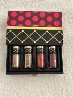 MAC Nutcracker Sweet Gold Pigments and Glitter Set