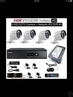 Cctv set package