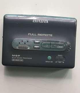 Vintage Aiwa cassette player