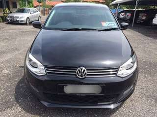 SAMBUNG BAYAR/CONTINUE LOAN  VOLKSWAGEN POLO 1.2 TSI AUTO YEAR 2011 MONTHLY RM 1080 BALANCE 1 YEAR  ROADTAX VALID TIPTOP CONDITION  DP KLIK wasap.my/60133524312/polo