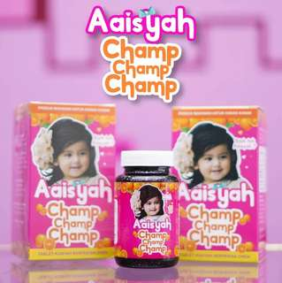 Aaisyah Champ Champ Champ Vitamin - 40 Chewable Tablets