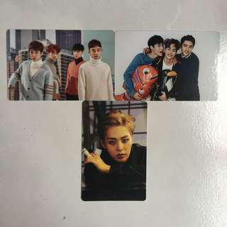 [INSTOCK] EXO Official Photocards & Sticker