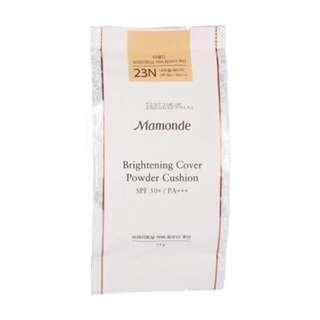 Mamonde Brightening Cover Powder Cushion Refill In Shade 23N