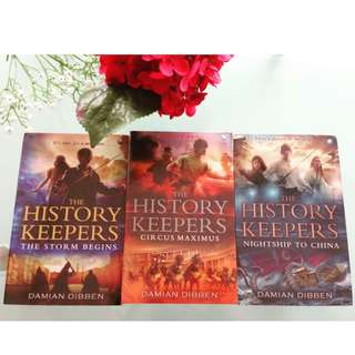 The History Keepers, Buku 1 - 3 Tamat by Damian Dibben