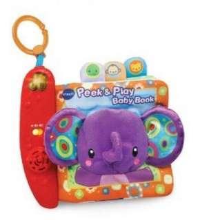 ~Ready Stocked~ VTech Peek & Play Baby soft Book - Purple