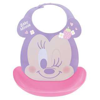 🇯🇵日本代購🇯🇵迪士尼系列防水立體口袋圍兜 (Minnie/Mickey/Pooh)