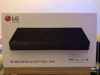 LG 4K Ultra HD Blu-ray player UP970