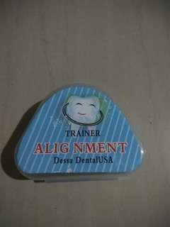 Orthodontic Teeth Trainer Alignment NEW masih segel