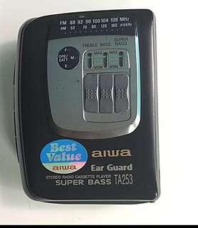 Vintage Aiwa Stereo Radio Cassette Player