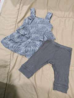 Carter's Set Dress ( 1 - 2 Years )