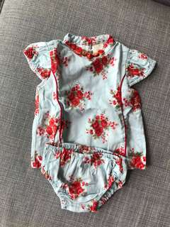 Bloomb dress for baby girl 3-6 months