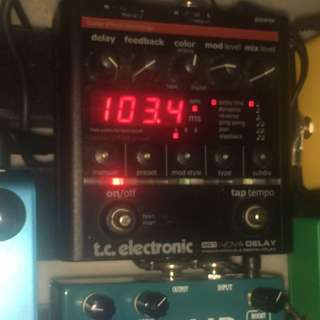 Nova delay with powersupply