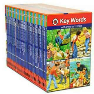 🚚 BN Ladybird: Key Words With Peter And Jane Box Set